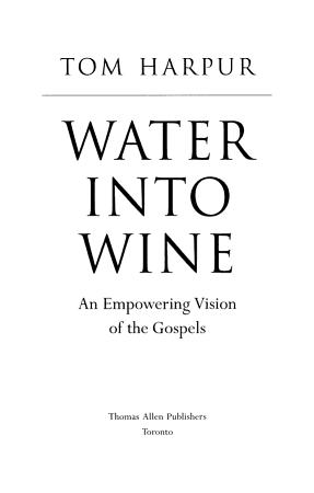 Water Into Wine PDF