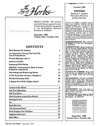 The Joy of Herbs PDF