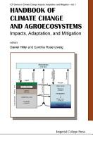 Handbook Of Climate Change And Agroecosystems  Impacts  Adaptation  And Mitigation PDF