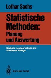 Statistische Methoden: Planung und Auswertung, Ausgabe 6