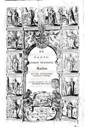 De inquisitione pacis, sive studio orationis libri quinque; ...: Volume 3