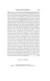 Histoire de la restauration: Volume15