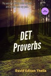 DET PROVERBS: Your word is a lamp...
