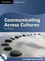 Communicating Across Cultures Student s Book with Audio CD PDF