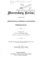 The Reformed Church Review     PDF