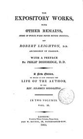 The works of Robert Leighton
