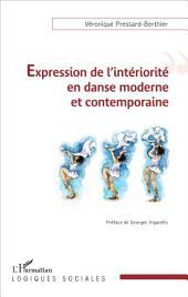 Expression de l'intériorité en danse moderne et contemporaine