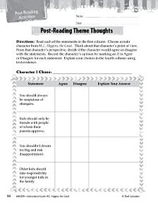 M C  Higgins  the Great Post Reading Activities PDF