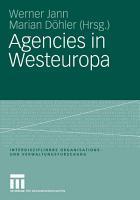 Agencies in Westeuropa PDF