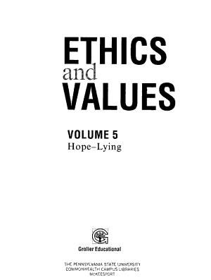 Ethics and Values  Hope   lying