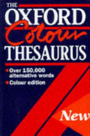 The Oxford Colour Thesaurus PDF