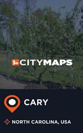 City Maps Cary North Carolina, USA