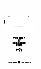 The Trap at Comanche Bend PDF