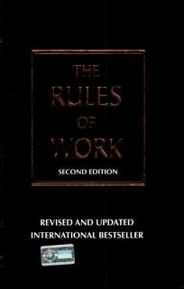 The Rules of Work Book