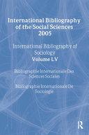 IBSS  Sociology  2005 Vol  55 PDF