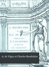A. de Vigny et Charles Baudelaire