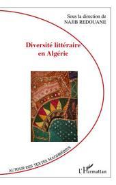 Diversité littéraire en Algérie