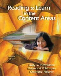 Reading To Learn In The Content Areas Book PDF