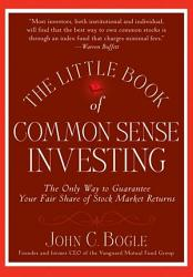 The Little Book Of Common Sense Investing Book PDF