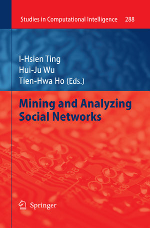 Mining and Analyzing Social Networks