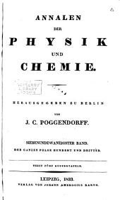 Annalen der Physik und Chemie: Band 2;Bände 27-28