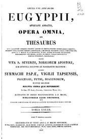 Patrologiae cursus completus ...: Series latina, Volume 62