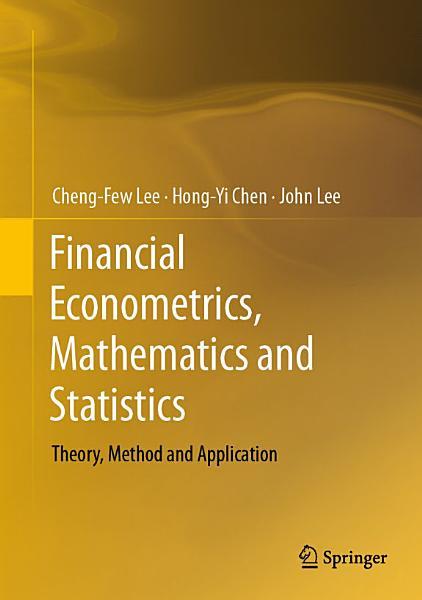 Financial Econometrics  Mathematics and Statistics PDF