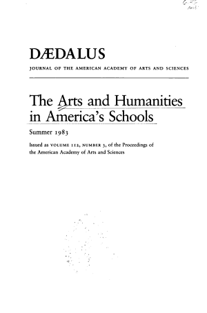 The Arts and Humanities in America s Schools PDF