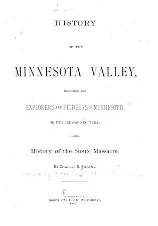 History of the Minnesota Valley PDF