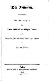 Die Jesuiten: Vorlesungen