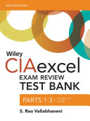 Wiley CIAexcel Exam Review 2016 Test Bank PDF