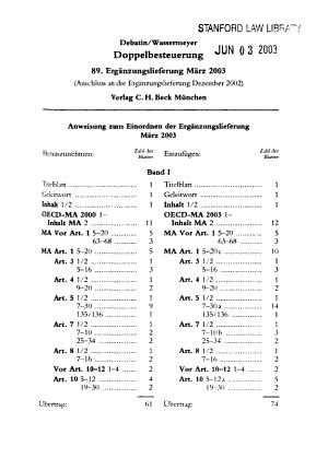 Doppelbesteuerung PDF
