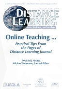 Distance Learning   Volume 16 Issue 4 2019