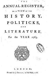 Annual Register: Volume 8