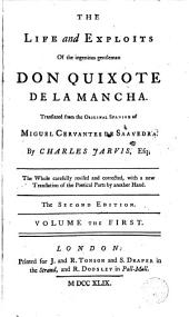 The Life and Exploits of the Ingenious Gentleman Don Quixote de la Mancha,1