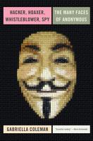 Hacker  Hoaxer  Whistleblower  Spy PDF