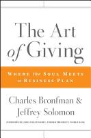 The Art of Giving PDF