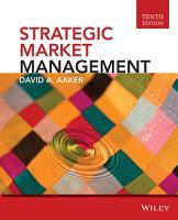 Strategic Market Management  10th Edition PDF