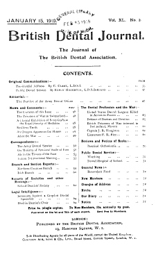 British Dental Journal PDF