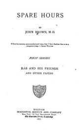 Spare Hours, by John Brown
