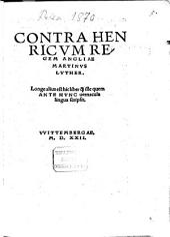 Contra Henricum, regem Angliae