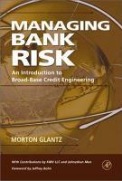 Managing Bank Risk PDF