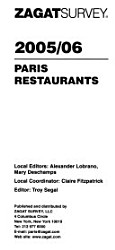 Paris Restaurants Book PDF