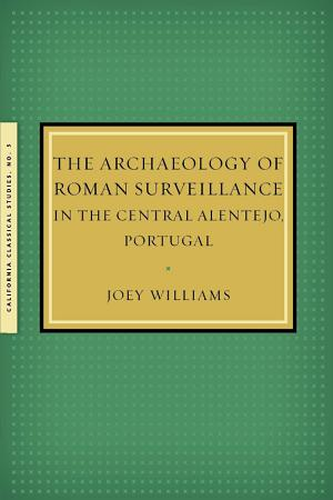 The Archaeology of Roman Surveillance in the Central Alentejo  Portugal PDF