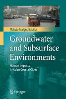 Groundwater and Subsurface Environments PDF