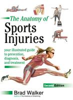 The Anatomy of Sports Injuries  Second Edition PDF