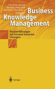 Business Knowledge Management PDF