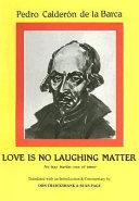 Love is No Laughing Matter PDF