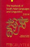 The Yearbook of South Asian Languages and Linguistics PDF