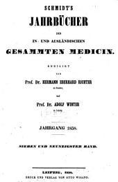 Schmidt's Jahrbücher der in- und ausländischen gesammten Medizin: Bände 97-98